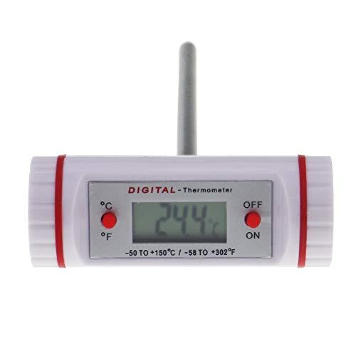 Horizontal T Barrel Digital Thermometer–Ideal für Fleisch, Türkei, Steak oder BBQ