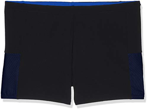 Speedo Herren Netzeinsatz Jammer Mesh Panel, Black/Chroma Blue, 2 (Herstellergröße: 28)