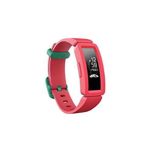 Fitbit Unisex Jugend Ace 2 Aktivitätstracker, Watermelon + Teal, Einheitsgröße