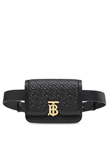 BURBERRY Luxury Fashion Damen 8014828 Schwarz Leder Gürtel | Herbst Winter 19