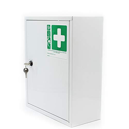 Armadietto medicinali cassetta farmaci con 2...