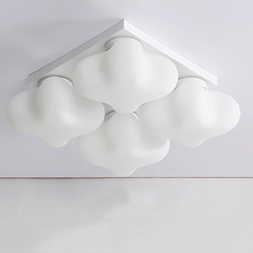 TXC- Eenvoudige Amerikaanse landelijke pastorale huiskamer plafond licht Comfortabele slaapkamer licht Children's slaapkamer licht Europees restaurant lichten Verlichting (Size : 4)