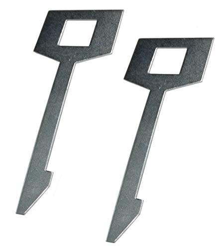 Aerzetix sleutelhanger, trekker, demontage, autoradio, compatibel met Kenwood C43431