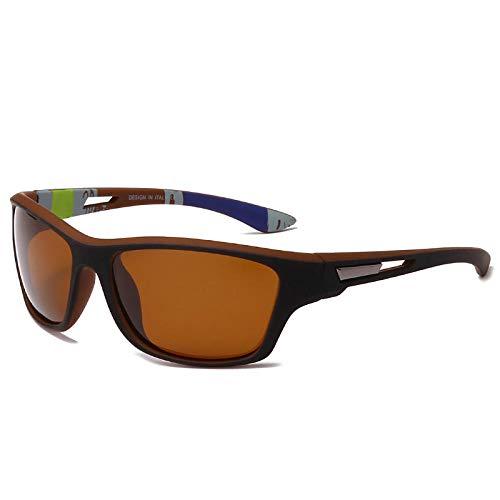 Gafas De Sol Hombre Mujeres Ciclismo Gafas De Sol Cuadradas Vintage Hombre Mujer Pesca Gafas De Sol Gafas De Sol-1-Kp202-C3