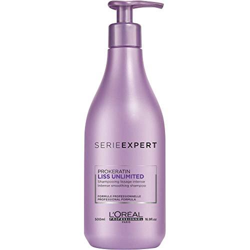 L'Oréal Professionnel Série Expert Liss Unlimited Shampoing Pour Cheveux Indisciplinés Ou Lissés