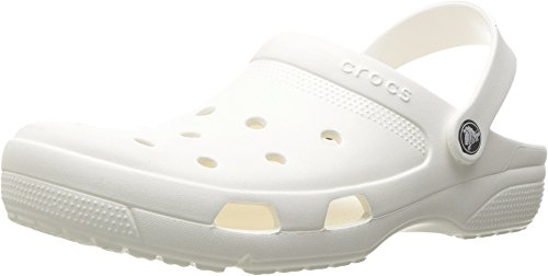 Crocs Coast Clog, White, Men's 8, Women's 10 Medium