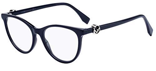 FENDI Occhiali da Vista F IS FF 0332 DARK BLUE 52/17/145 donna