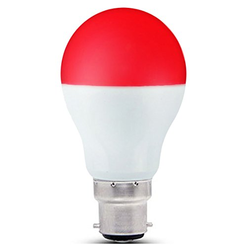 Lighteu, Ampoule LED WiFi 6W/B22, Multicolore RVB/RGB plus blanc chaud, Milight original®, à intensité variable, (6W-B22) [Classe énergétique A+]