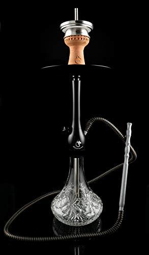 Dschinni Chucky Black Crystal Shisha Set