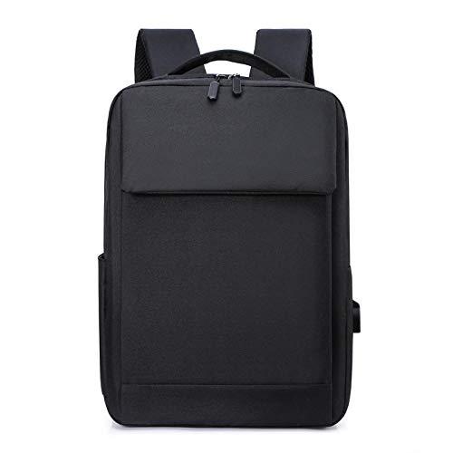 Zaino Robusto Per Laptop, Zaino Impermeabile Con Porta USB, Zaino Per Computer Aziendale, Zaino USB Per Il Tempo Libero 30 * 10 * 41cm Noir