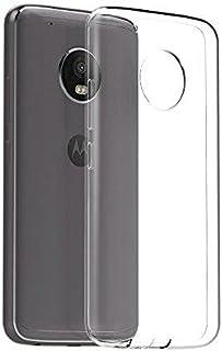 غطاء خلفي شفاف من السيليكون لهاتف موتورولا موتو G5 بلس (G5P) من ماز