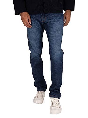 Lois Uomo Jeans a terrazza, Blu, 30W x 32L