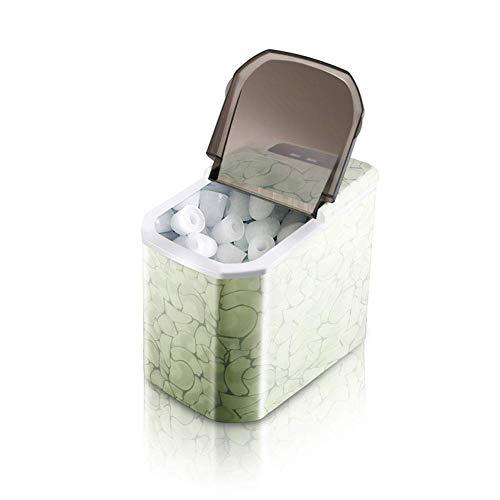 WJSW Tragbare Eismaschine auf der Arbeitsplatte-9 Eiswürfel in 6 Minuten fertig-Produziert 15 kg EIS in 24 Stunden-Mit abnehmbarem Korb