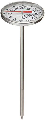 CDN IRT220 ProExcurate - Termómetro de cocina, S/S, 1.75-inch/4.4 cm Magnified Dial, 1