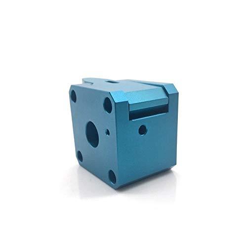 XBaofu 1 Juego en 3D de la Impresora Piezas Drivegear Kit Dual Drive Gear Extrusora Kit clonada for Btech de actualización for Prusa I3 3D Impresora Engranajes Mini for Bowde Extrud (tamaño : Blue)