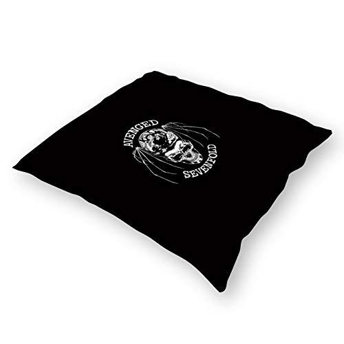 Throw Pillowcase Plush Pillowcase Super Soft Pillow Cover Case For Holding Pillow Double-Sided Avenged Sevenfold Logo (18''×18'')