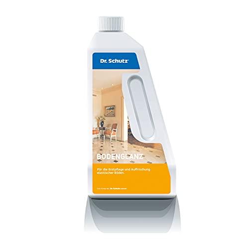 Dr. Schutz Bodenglanz für Designböden aus Vinyl, PVC, CV, Linoleum, Einpflege & Auffrischung, bildet glänzende Schutzschicht, verringert Schmutzhaftung, rutschhemmend, 750 ml