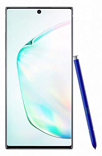 Samsung Galaxy Note 10+ Plus 4G Dual-SIM SM-N975F DS 256GB (GSM Only, No CDMA) Factory Unlocked 4G LTE Smartphone - International Version (Aura Glow) (Renewed)