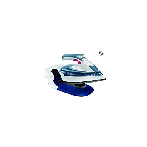 Calor FV9960C0 Freemove Fer à Repasser Vapeur sans Fil Bleu...