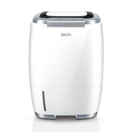 Luftbefeuchter IDEAL AW60 für gereinigte und befeuchtete Raumluft bis zu 60m² mit HEPA Filter (Luftwäscher gegen Allergene, Stäube, Gerüche, Bakterien, Schimmelsporen) - ideal für zuhause
