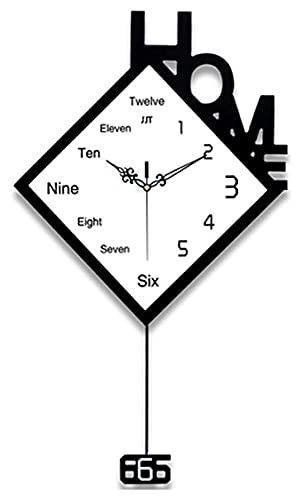 reloj de pared Relojes de pared de metal silencioso fácil de leer Reloj de pared de cuarzo para la sala de estar de la casa de la sala de estar de la oficina de la oficina de la oficina de la oficina