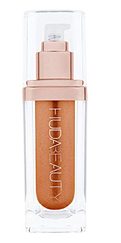 HUDA BEAUTY N.Y.M.P.H. Not Your Mama's Panty Hose All Over Body Highlighter COLOR: Aurora