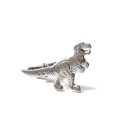Men's Premium T Rex Dinosaur 1.5' Metal Tie Bar Clip