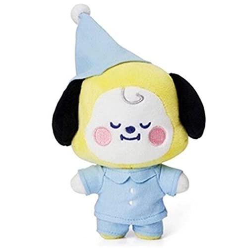 BTS - Mini almohada de peluche de peluche, ropa intercambiable para muñeca-BTS mercancía suave felpa, para aficionados, amigos, decoración del hogar (CHIMMY)