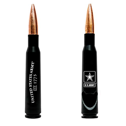50.Cal Army BMG Flaschenöffner – früh gefeuerte Armee BMG 50 Kaliber echtes Gehäuse – Armee-Geschenke