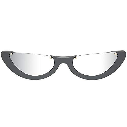 Gafas de sol PAWAKA EMPAT 4 Gris Mate - Silver Mirror 51 20 145 Nuevo