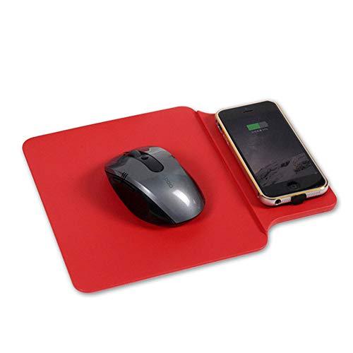 Tsriy Qi draadloze muis, snel opladen, mat, geschikt voor alle draadloze laders, voldoet aan de AQ normen.