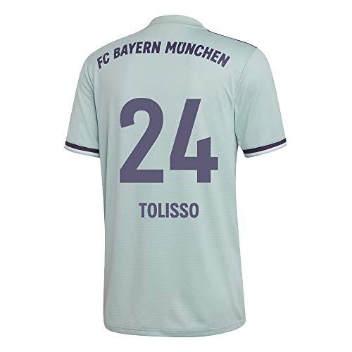 adidas FCB FC Bayern München Trikot Away Auswärtstrikot 2018 2019 Herren Tolisso 24 Gr M