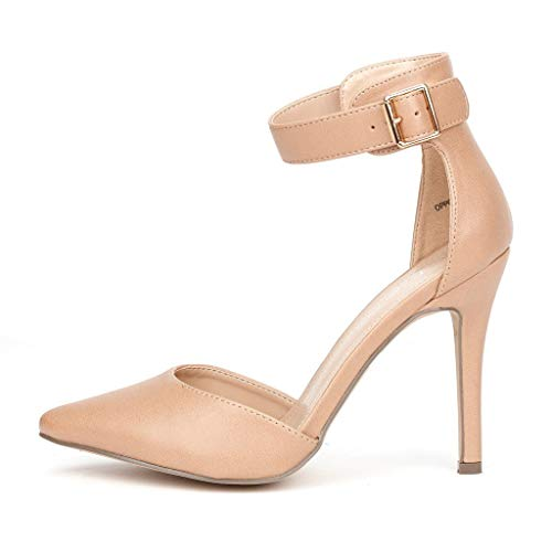 Top 10 best selling list for nude round toe d orsay flats shoes