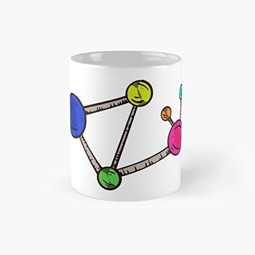 Physics and Chemistry Design Molecules Atoms Classic Mug