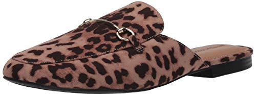 Amazon Essentials Women's June Mule, Leopard, 10 B US