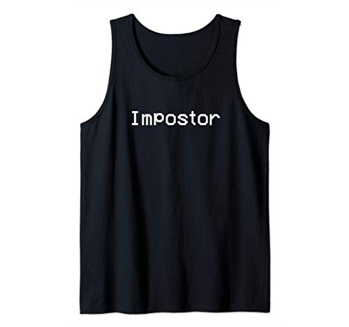 Among Impostor Us - Black Is Sus Camiseta sin Mangas