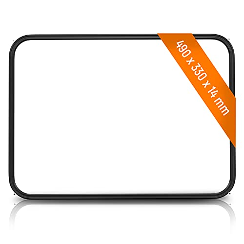 Junta de puerta de repuesto para Electrolux 14004354302/8 con 4 ganchos para puerta de horno, junta de puerta de horno, junta de goma para marco de goma