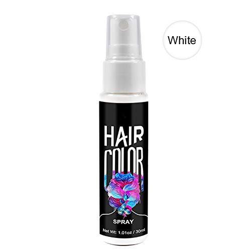 Aemiy Hair Color Spray Instant Styling One Time Dry Color Fashion Beauty Makeup 30ml