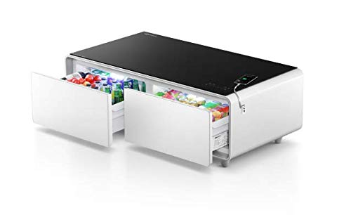 Mesa Frigorifico Inteligente Bluetooth Musica Bebidas Cargador Movil USB SOFIE NEXT GENERATION STT WHITE