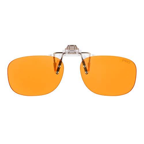 PRiSMA CLiP-ON PRO99 bluelightprotect - Brillenaufstecker - Bildschirmzeit ohne Kopfschmerzen - CP709