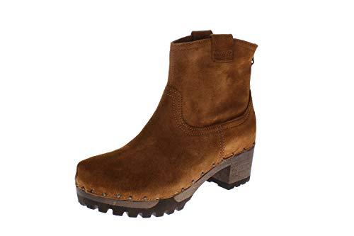 Softclox S3354 INKEN Kaschmir - Damen Schuhe Stiefel - 29-terrakotta, Größe:40 EU