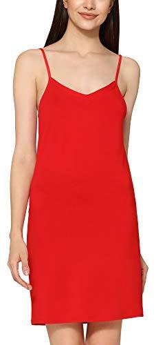 Merry Style Damen Unterkleid Unterrock verstellbare Träger MS10-315 (Rot, 4XL)