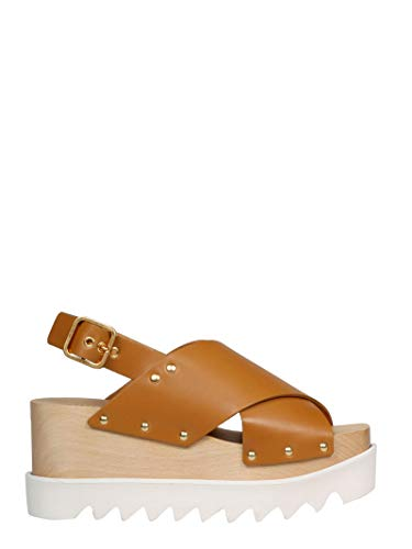 Moda De Lujo | Stella Mccartney Mujer 800006W1C409731 Marrón Cuero Sandalias | Temporada Permanente