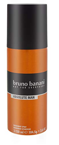 6x Bruno Banani Absolute Man Deodorant Spray maskuliner Duft for men 150ml für Ihn