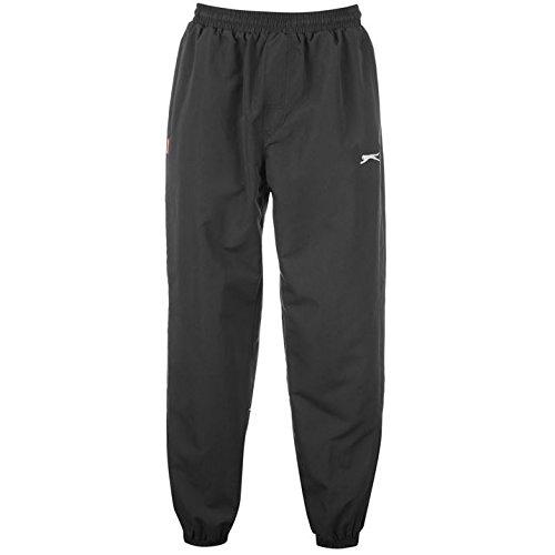 Slazenger Pantalon de survêtement tissé avec jambes resserrées, Pour courir, Homme XXXXL noir