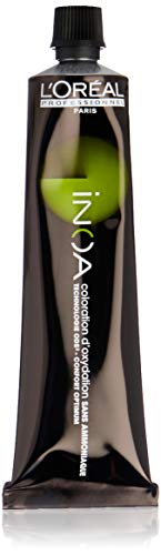 L'Oréal Inoa - Oxidative Coloration Ohne Ammoniak 7,13 Mittelblond Asch Gold, 1er Pack (1 x 60 ml)