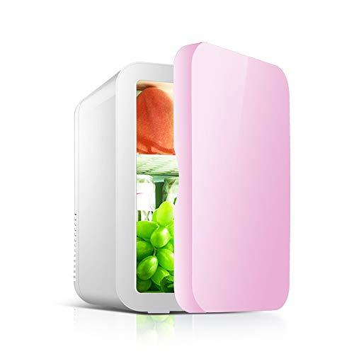 Car Réfrigérateur-8L Voiture Petit Réfrigérateur Portable Maison Étudiant Dortoir Fruit Masque Cosmétiques De Stockage De Réfrigérateur Réfrigérateur Voiture refrigerato (Color : Blue)