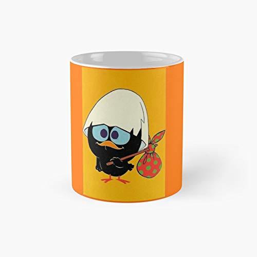 Taza clásica Calimero | El mejor regalo divertidas tazas de café de 11 oz