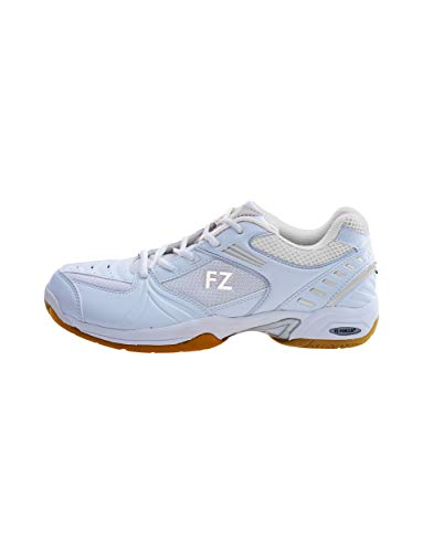 FZ Forza Fierce W - Zapatillas deportivas de bádminton para mujer, color blanco, Unisex adulto, Blanco, 39.5 EU