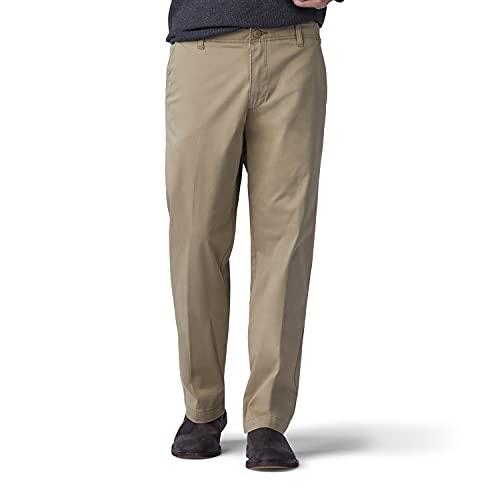 Lee Men's Performance Series Extreme Comfort Straight Fit Pant, Original Khaki, 30W x 30L